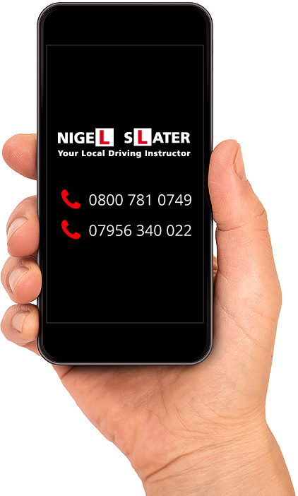 Call Nigel Slater Driving Instructor